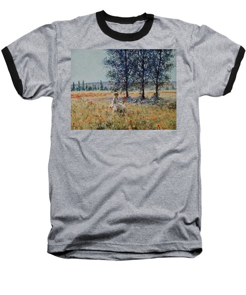 Picking Flowers  Baseball T-Shirt