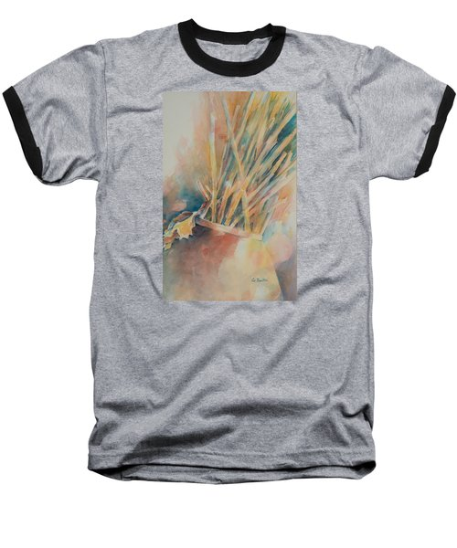 Pickup Sticks Baseball T-Shirt by Lee Beuther