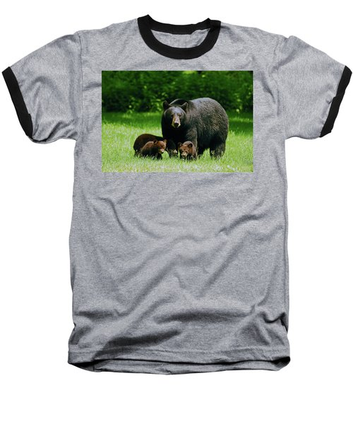 Picnic Crashers Baseball T-Shirt