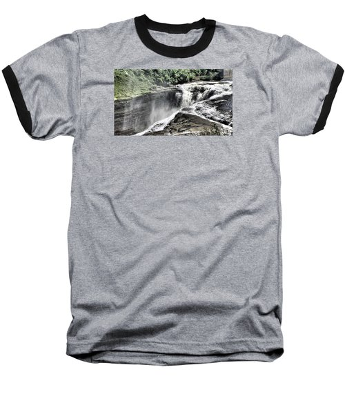 Picture Of Waterfalls At Letchworth Baseball T-Shirt