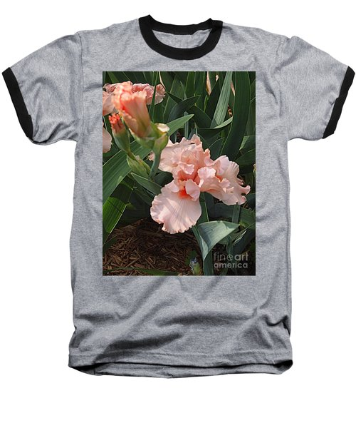 Baseball T-Shirt featuring the photograph Picture Peach by Nancy Kane Chapman