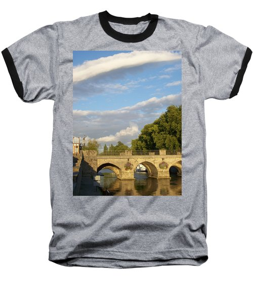 Baseball T-Shirt featuring the photograph Picturesque by Mary Mikawoz