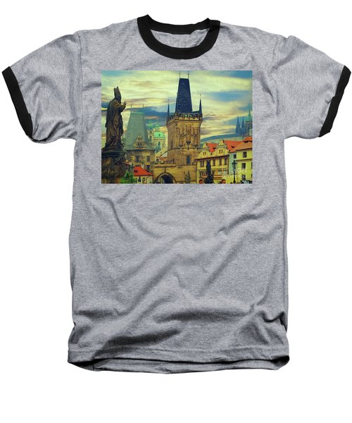 Picturesque - Prague Baseball T-Shirt