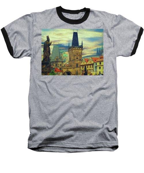 Picturesque - Prague Baseball T-Shirt