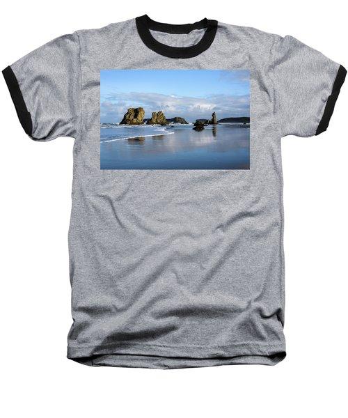 Picturesque Rocks Baseball T-Shirt