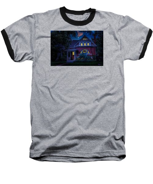 Picutre Window Baseball T-Shirt by J Griff Griffin