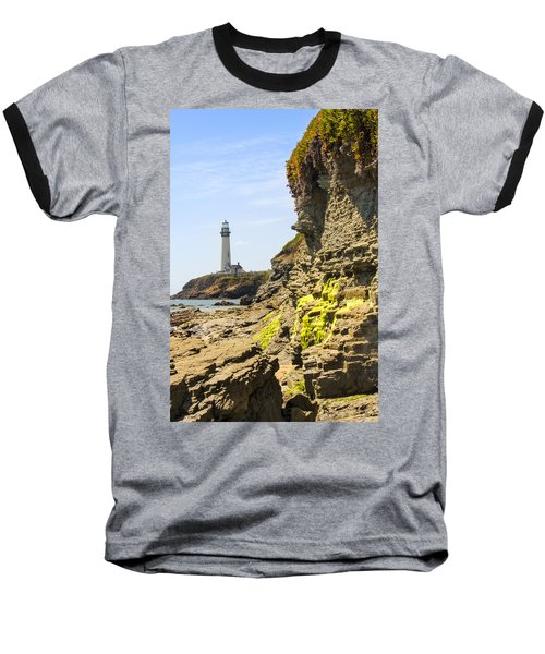 Pidgeon Point Lighthouse Baseball T-Shirt