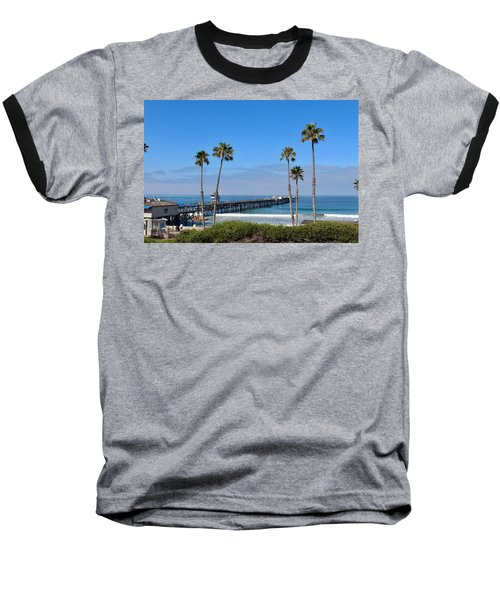 Pier And Palms Baseball T-Shirt