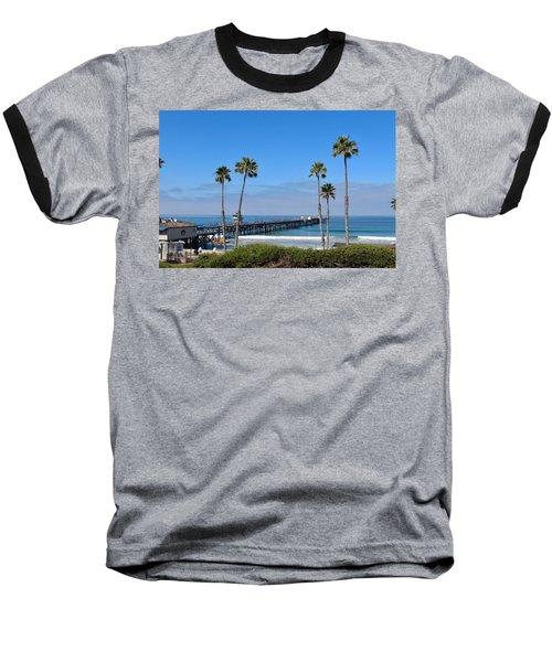 Pier And Palms Baseball T-Shirt