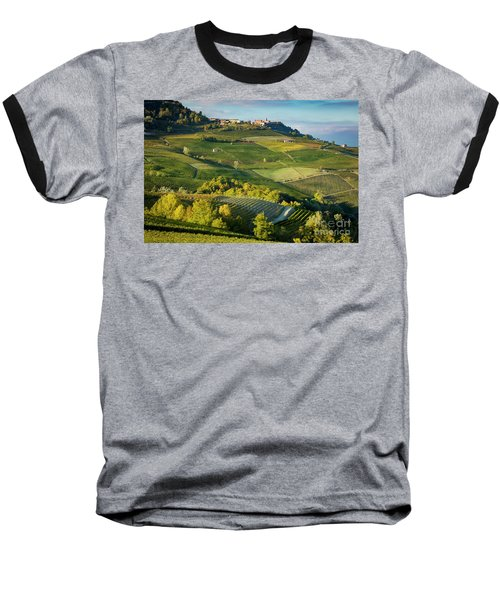 Baseball T-Shirt featuring the photograph Piemonte Countryside by Brian Jannsen