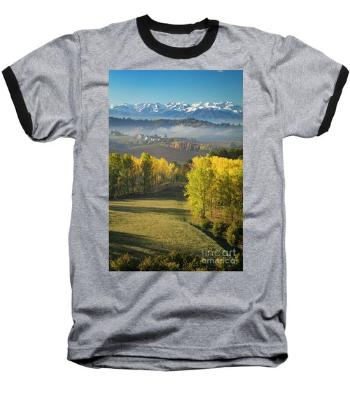 Baseball T-Shirt featuring the photograph Piemonte Morning by Brian Jannsen