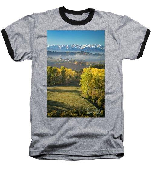 Baseball T-Shirt featuring the photograph Piemonte Morning by Brian Jannsen