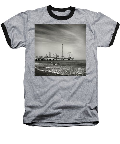 Baseball T-Shirt featuring the photograph Pier 2 by Sebastian Mathews Szewczyk