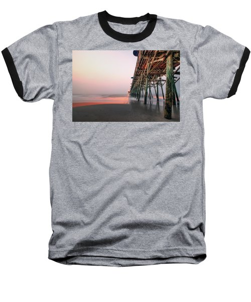 Pier And Surf Baseball T-Shirt