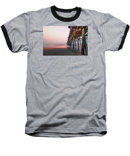 Pier And Surf Baseball T-Shirt