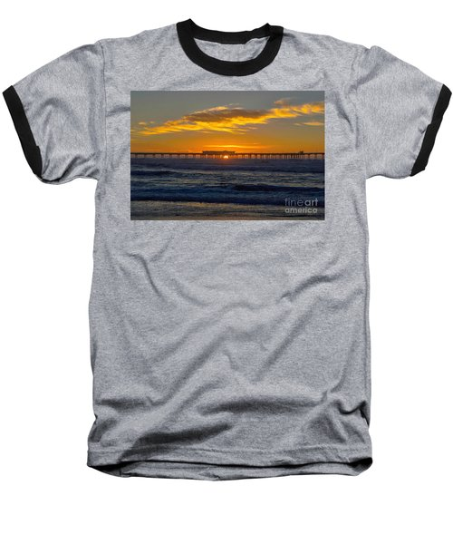 Pier Cafe Baseball T-Shirt