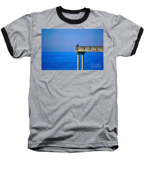 Pier Man Baseball T-Shirt