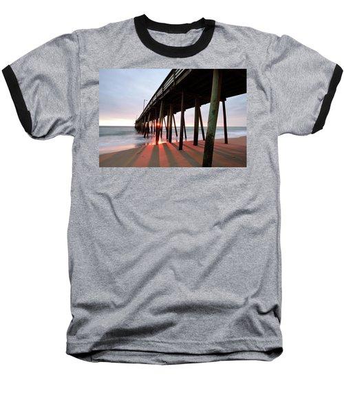 Pier Sunburst Baseball T-Shirt