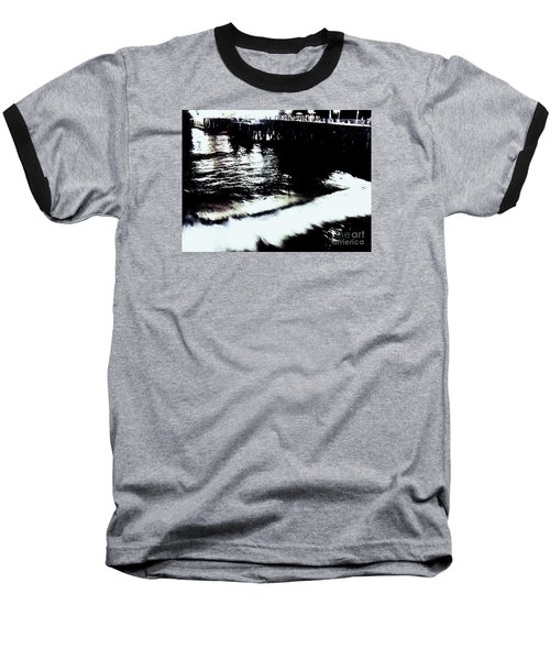 Baseball T-Shirt featuring the photograph Pier by Vanessa Palomino