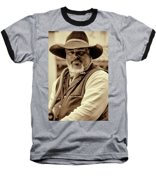 Piercing Eyes Of The Cowboy Baseball T-Shirt