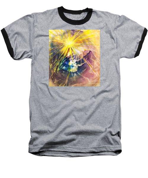 Piercing Light Baseball T-Shirt by Allison Ashton
