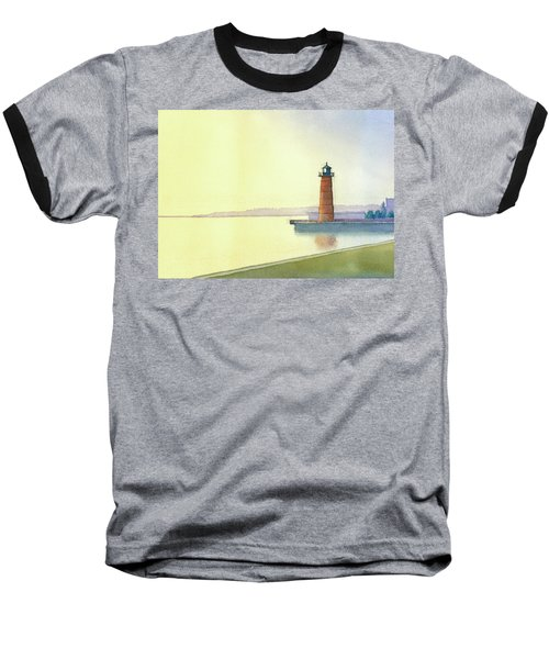 Pierhead Lighthouse, Milwaukee Baseball T-Shirt