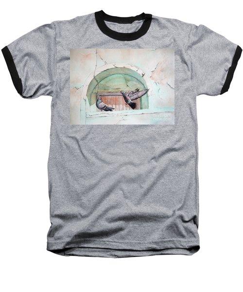 Pigeon Perch Baseball T-Shirt