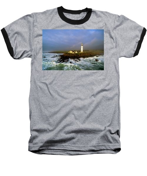 Baseball T-Shirt featuring the photograph Pigeon Point Lighthouse by Evgeny Vasenev