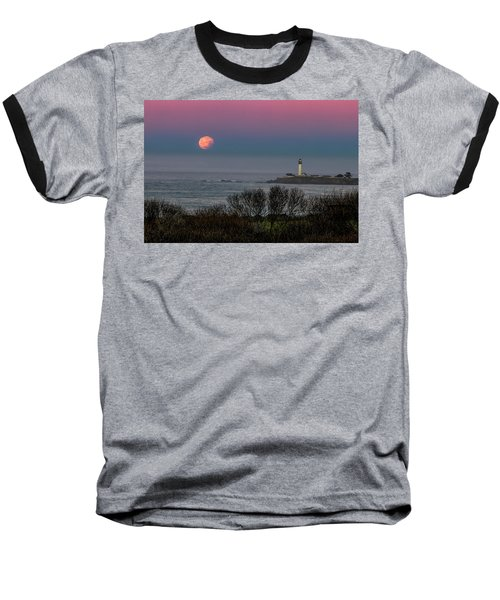 Pigeon Point Supermoon Baseball T-Shirt