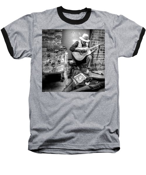 Pike Market Solo Baseball T-Shirt by Greg Sigrist