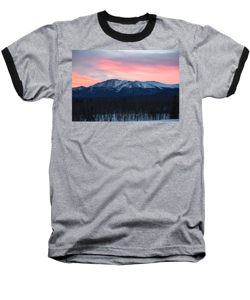 Sunrise Pikes Peak Co Baseball T-Shirt