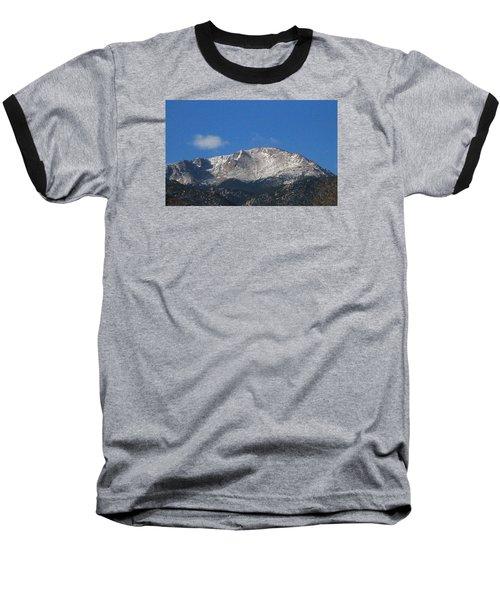 Pikes Peak Baseball T-Shirt by Christopher Kirby
