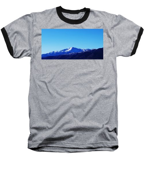 Baseball T-Shirt featuring the photograph Pikes Peak by Joseph Frank Baraba