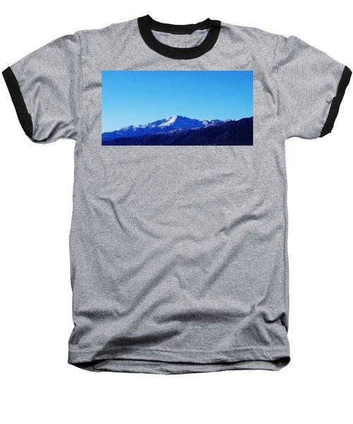 Pikes Peak Baseball T-Shirt by Joseph Frank Baraba