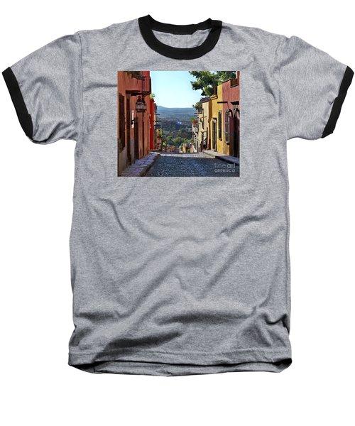 Baseball T-Shirt featuring the photograph Pila Seca by John  Kolenberg