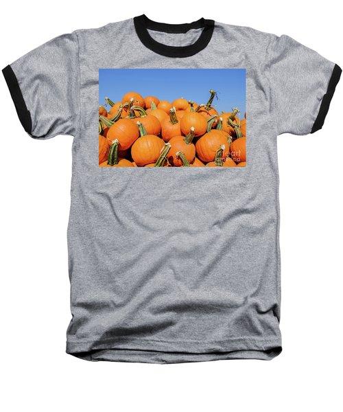Pile Of Pumpkins Baseball T-Shirt