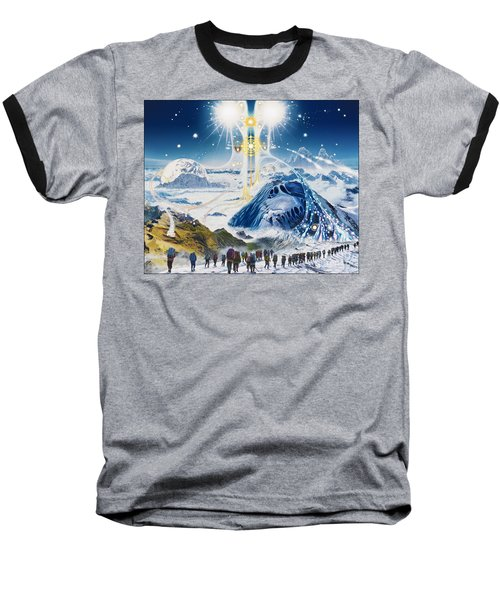 Pilgrimage Of The Lunatics Baseball T-Shirt