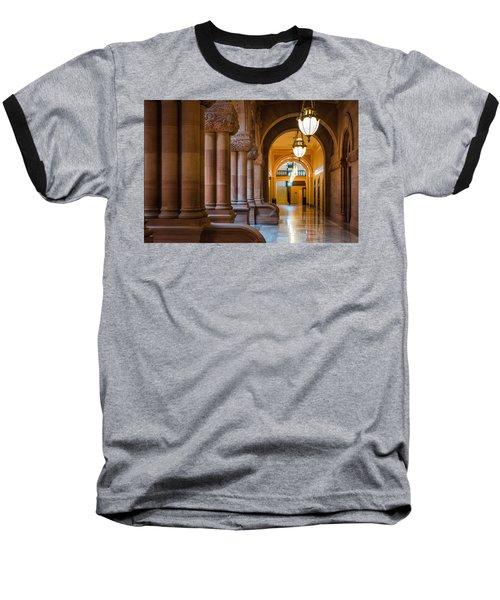Pillar Hallway Baseball T-Shirt