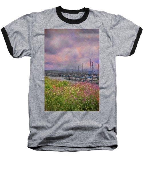 Pillar Point Harbor Baseball T-Shirt