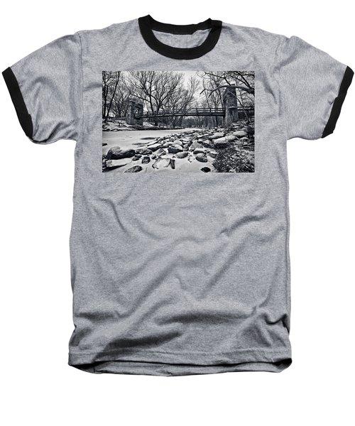 Pillars On The Shore Baseball T-Shirt
