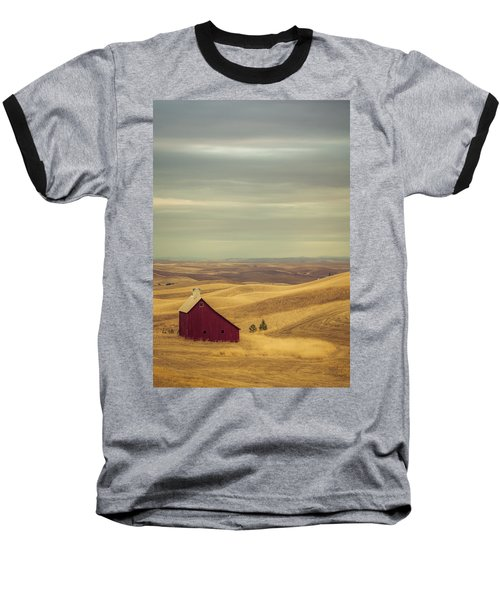 Pillbox Barn Baseball T-Shirt