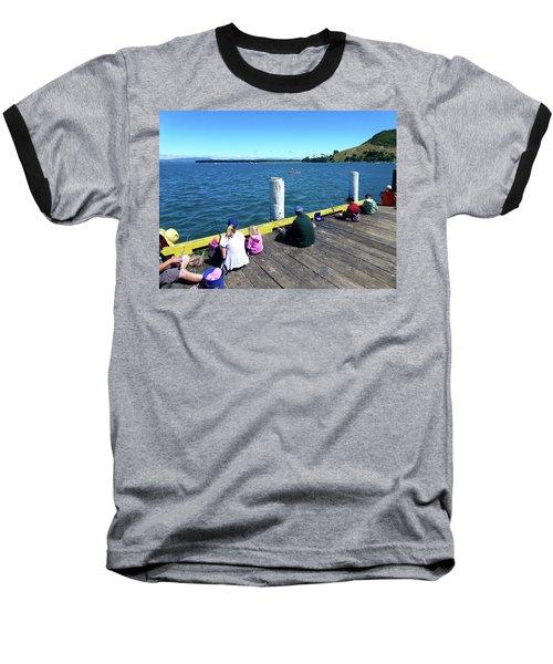 Pilot Bay 1 - Mount Maunganui Tauranga New Zealand Baseball T-Shirt