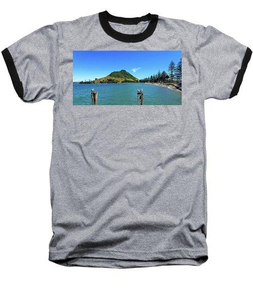 Pilot Bay Beach 2 - Mount Maunganui Tauranga New Zealand Baseball T-Shirt