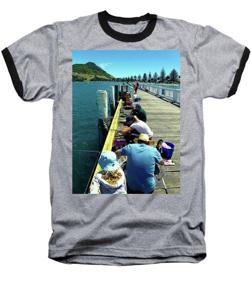 Pilot Bay Beach 6 - Mount Maunganui Tauranga New Zealand Baseball T-Shirt