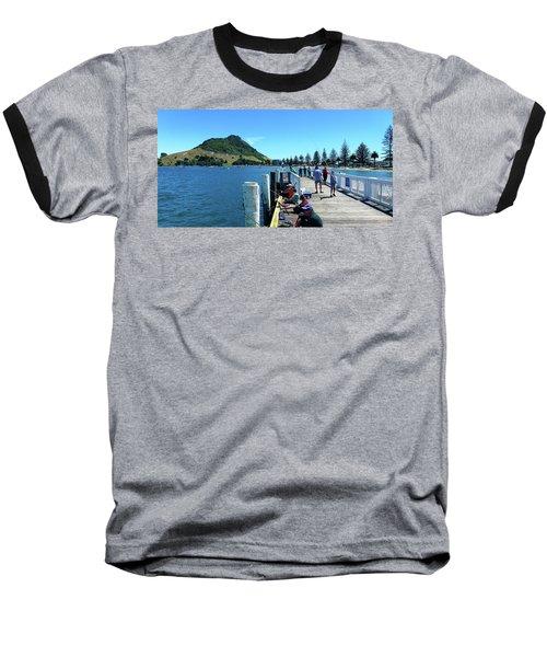 Pilot Bay Beach 8 - Mount Maunganui Tauranga New Zealand Baseball T-Shirt