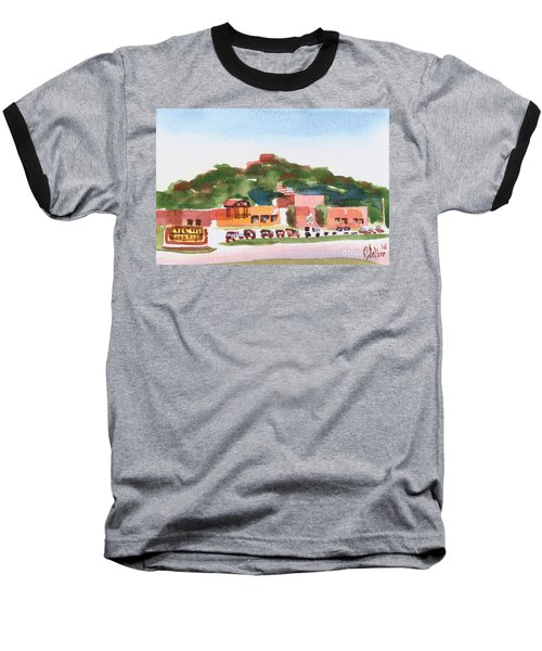 Baseball T-Shirt featuring the painting Pilot Knob Mountain W402 by Kip DeVore
