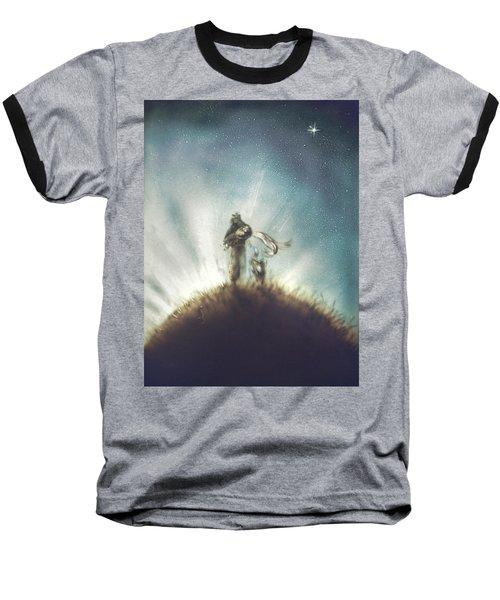 Pilot, Little Prince And Fox Baseball T-Shirt
