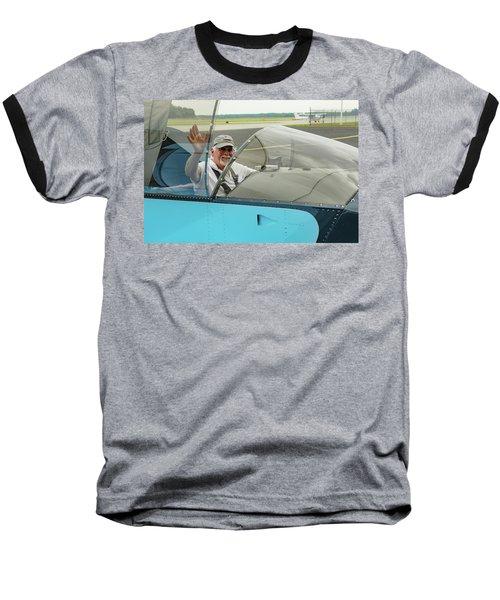 Pilot Vic Vicari Baseball T-Shirt