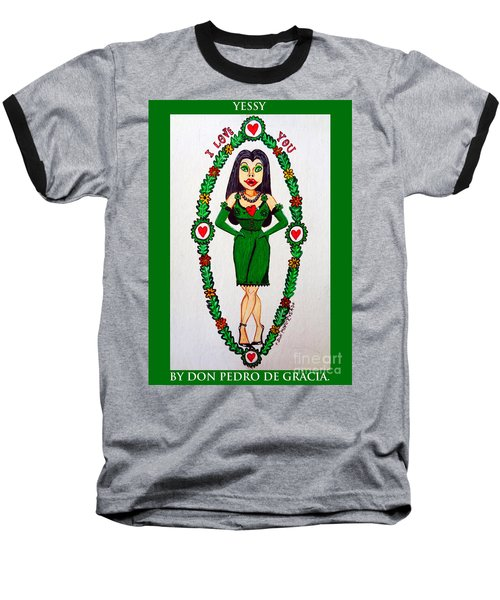 Yessy Baseball T-Shirt