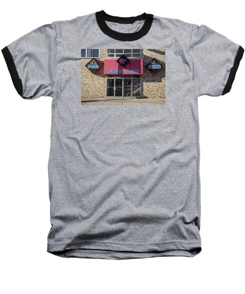 Pinball Pete's East Lansing  Baseball T-Shirt